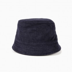 DARK BLUE BOMBAZINE HAT