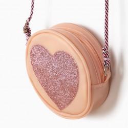 'HEART' GIRLS SHOULDER BAG, PINK
