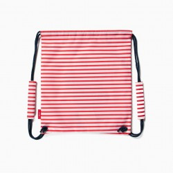 SPORTS BAG FOR GIRLS 'MINNIE', WHITE/RED