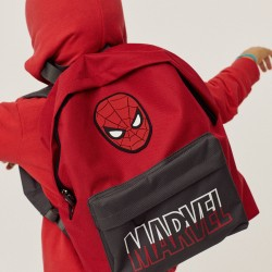 'SPIDER-MAN' BOY'S BACKPACK, RED/GREY