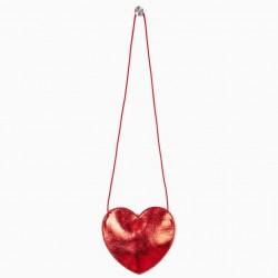'HEART' GIRL SHOULDER BAG, RED