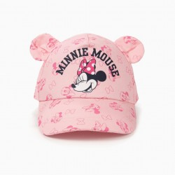 'MINNIE MOUSE' BABY GIRL CAP, PINK
