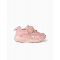 TRAINERS FOR BABY GIRLS, 'COSMIC LITTLE WORLD', PINK