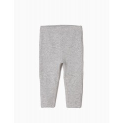 GRAY BASIC LEGGINGS