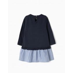 BABY GIRL MINNIE DRESS, BLUE