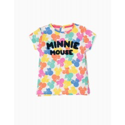 BABY GIRL T-SHIRT 'MINNIE MOUSE', MULTICOLOR