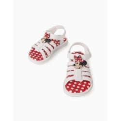 MINNIE ZY DELICIOUS' BABY GIRL SANDALS, WHITE