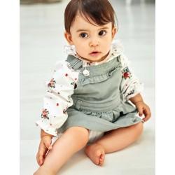 BABY GIRL CHEST SKIRT, GREEN