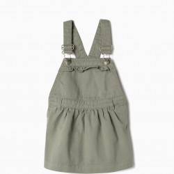 BABY GIRL CHEST SKIRT, GREEN