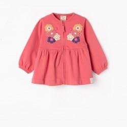 BABY GIRL COAT 'FLORES', PINK