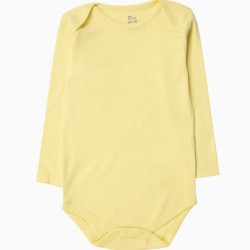 5 LONG SLEEVE BODIES FOR BABY GIRL 'BIRDS', MULTICOLOR