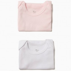 PACK 2 BODIES MANGA CAVA WHITE AND PINK
